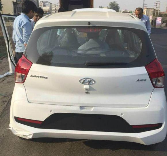 Hyundai Santro Asta Spied