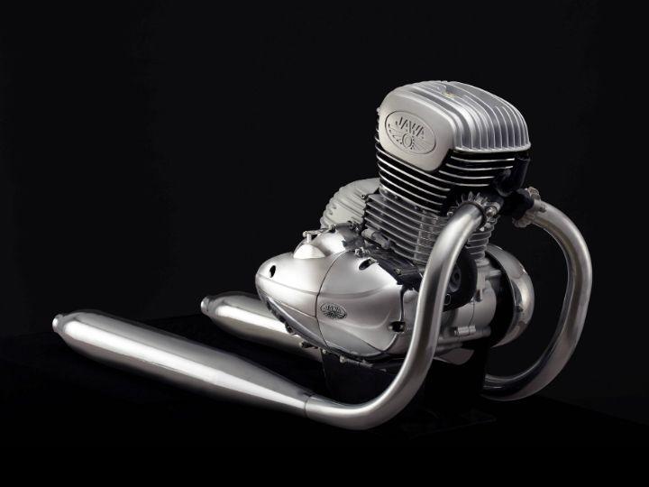 Jawa Motorcycles Engine Revealed