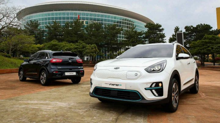 Kia e-Niro Unveiled At Paris Motor Show 2018