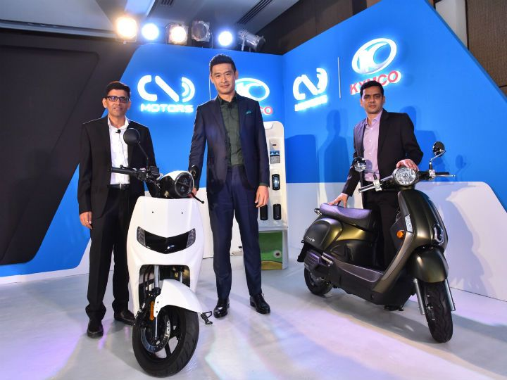 Kymco 22Motors partnership