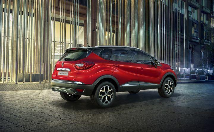 Renault Captur new colour