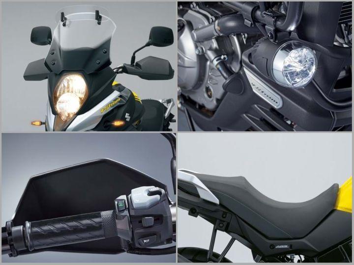 V Strom 650 comfort accessories