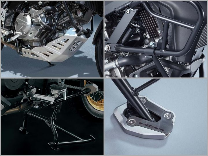 V Strom 650 protection accessories