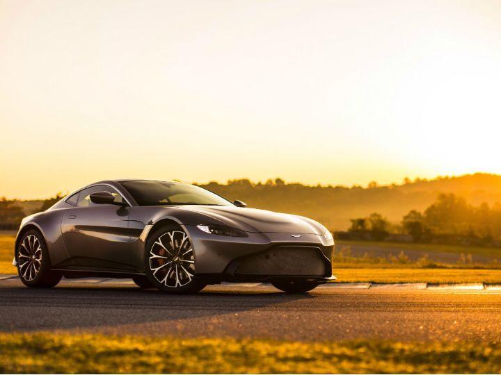 Aston Martin V8 Vantage launched