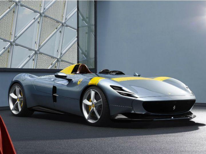 Ferrari Monza SP1 \u0026 SP2 Unveiled , ZigWheels