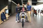 Cricketer Yuvraj Singh Takes Delivery Of The BMW G 310 R