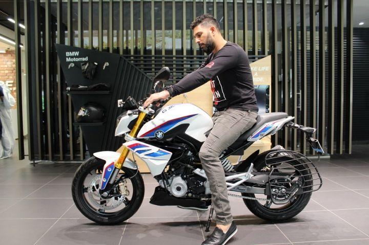 Yuvraj Singh - BMW G 310 R