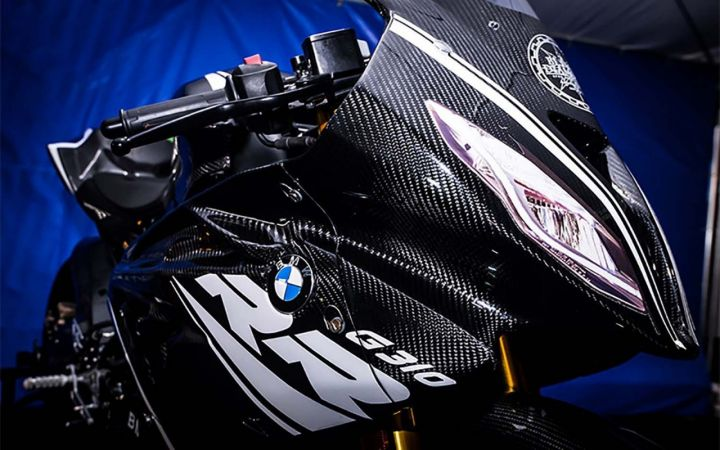 BMW Showcases HP4 Race-inspired G 310 RR Supersport In Japan