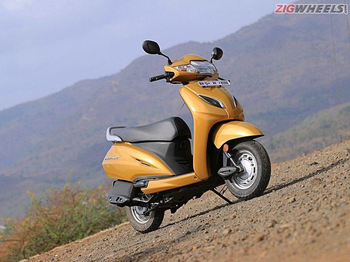 Honda Activa design