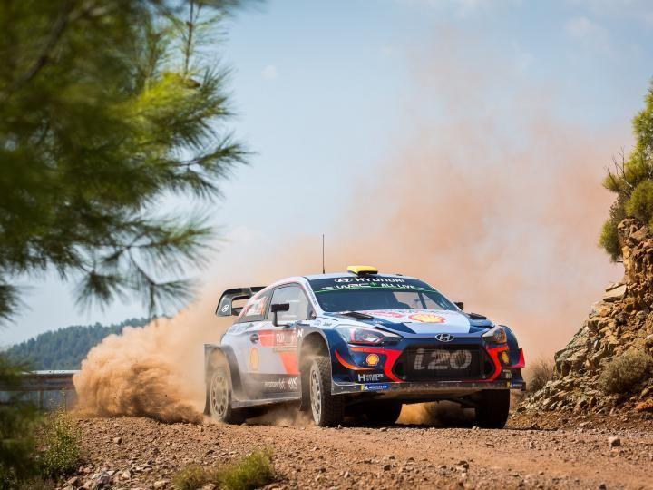 Hyundai WRC Rallye Turkey
