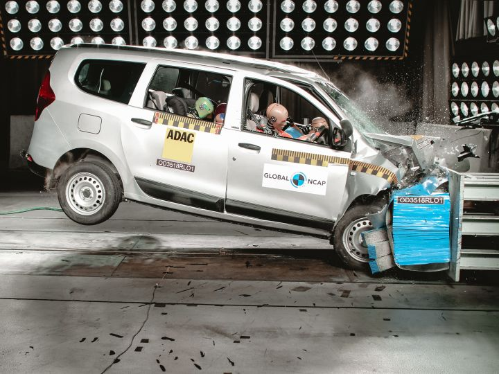 Renault Lodgy With 0 Airbags Scores 0 Stars