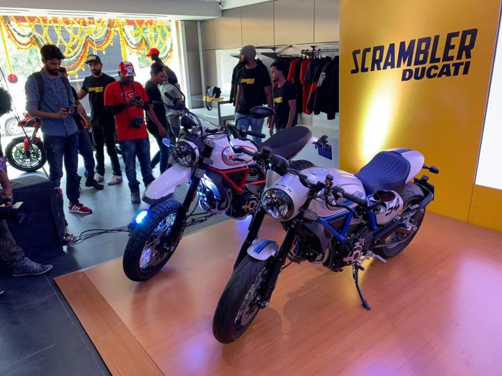 2019 Scrambler launch