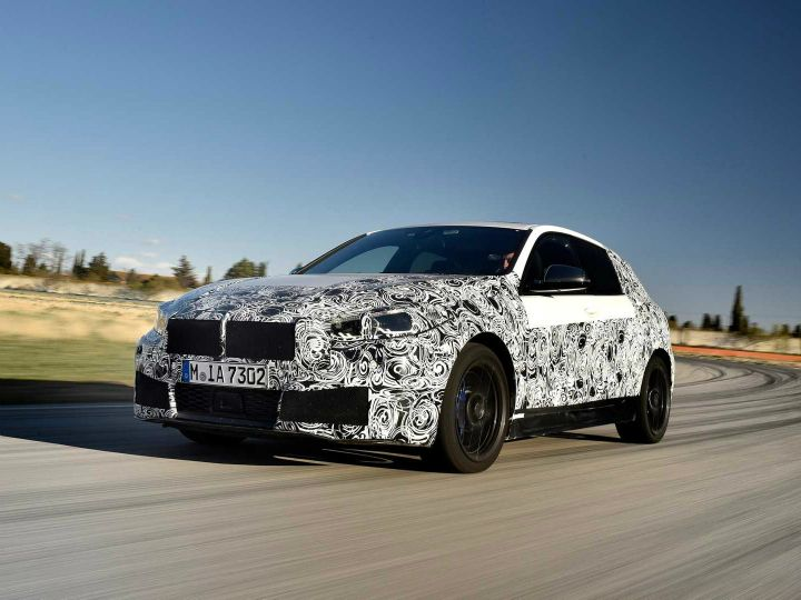 Upcoming Bmw 1 Series Hatchback Spied Is Now Front Wheel Driven