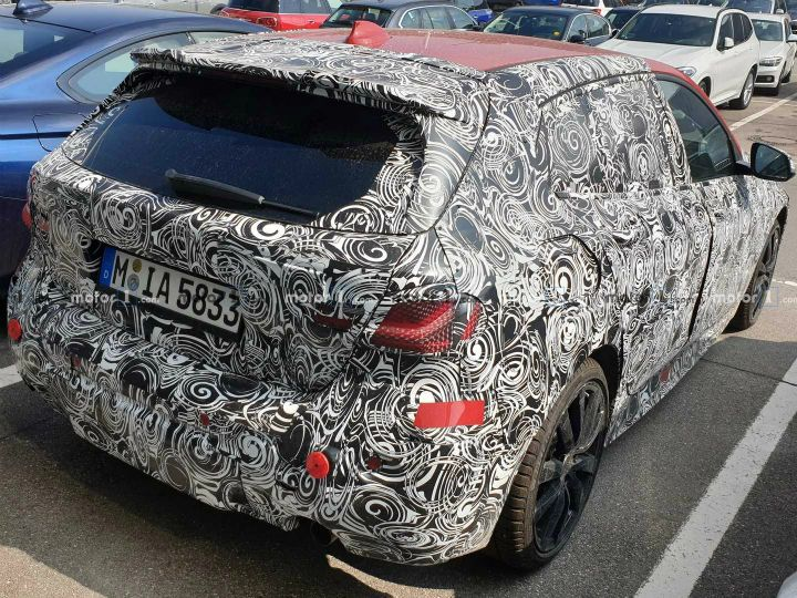 Upcoming Bmw 1 Series Hatchback Spied Is Now Front Wheel