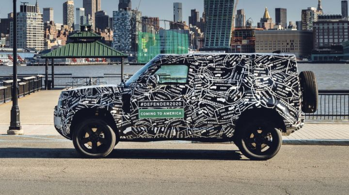 Land Rover Defender To Make A Comeback In September - ZigWheels
