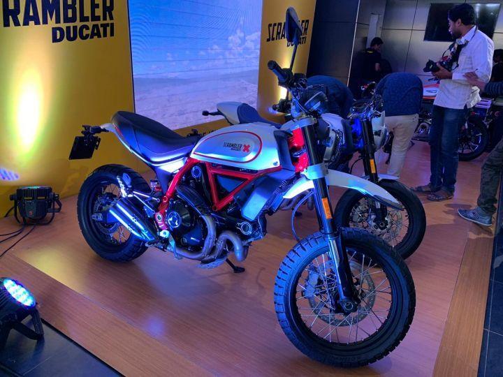 2019 Ducati Scrambler Icon Cafe Racer Full Throttle Desert Sled