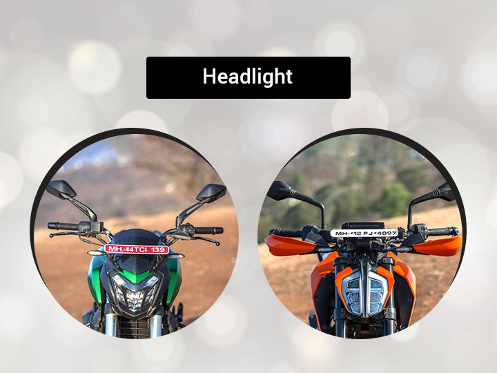 Dominar vs Duke headlamp