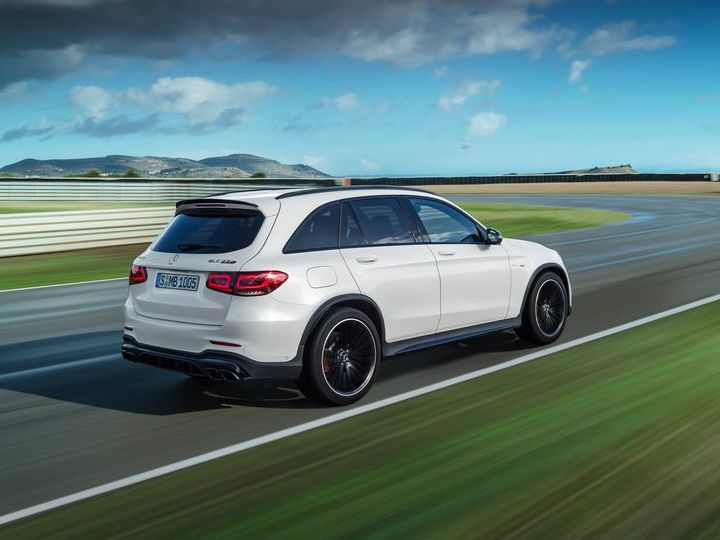 2020 Mercedes Amg Glc 63 Facelift Unveiled Gets Sportier S Variant