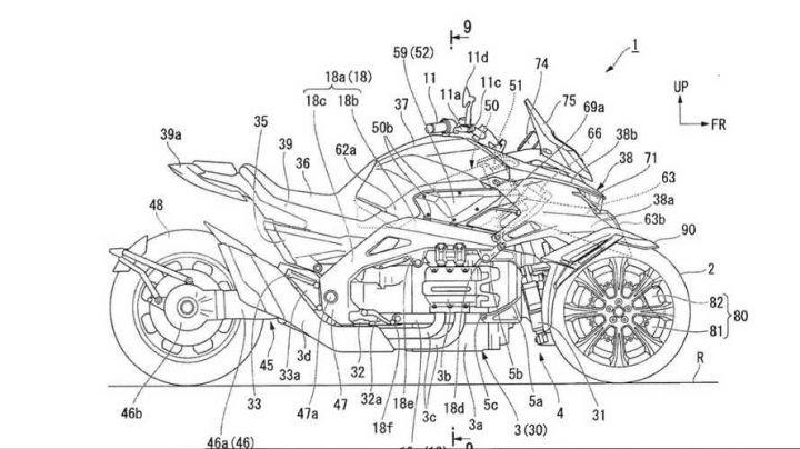 Honda Files Patents For Its Leaning Three-wheeler - ZigWheels