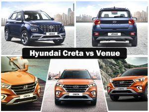 Hyundai Venue vs Creta: Sibling Rivalry