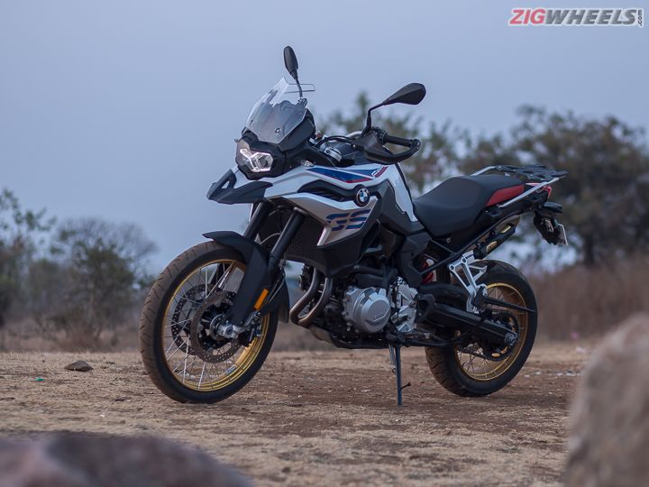 BMW F 850 GS In Pics