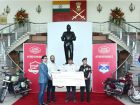 Jawa Hands Over Rs 1.49 Crore To Armed Forces Flag Day Fund