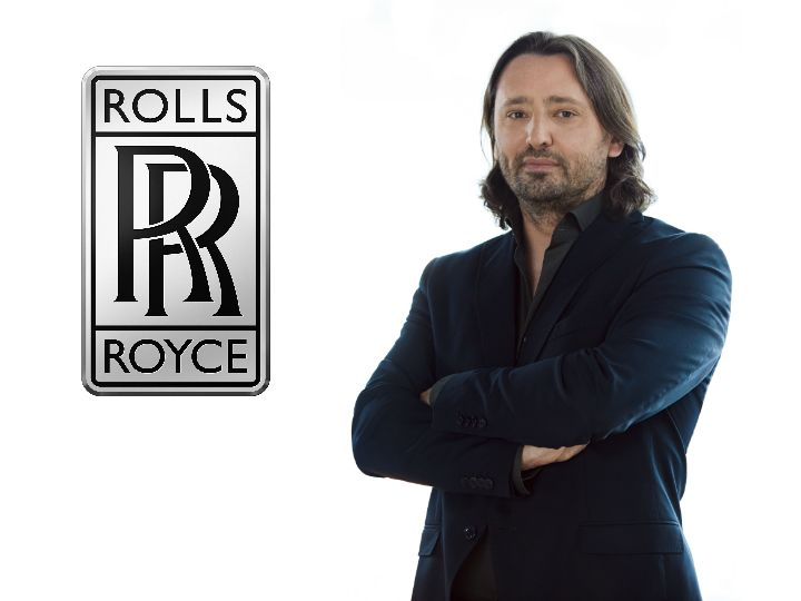 Jozef Kabaň s new Head Of Design At Rolls-Royce Motor Cars