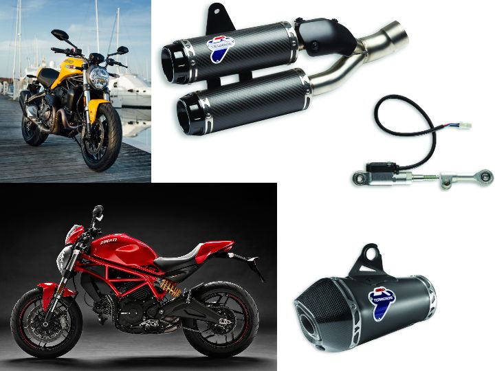 Ducati India Offers Free Termignoni Exhaust With Monster 821 And