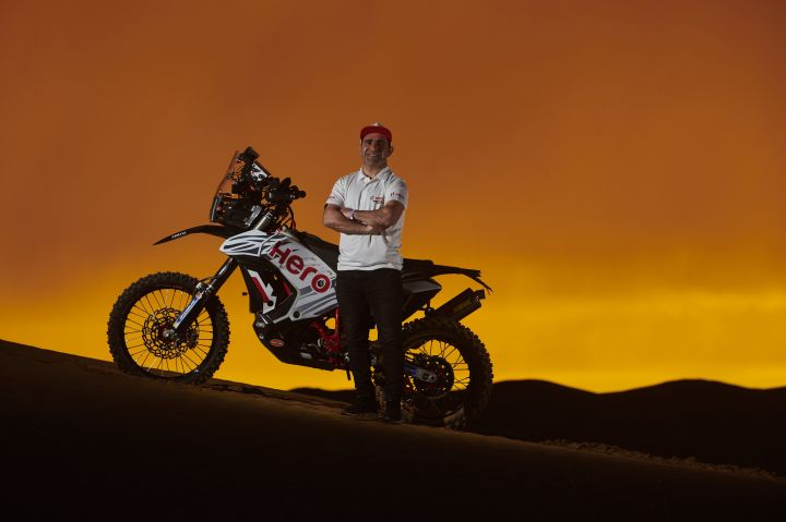 Hero Signs Star HRC Factory Rider Paulo Goncalves
