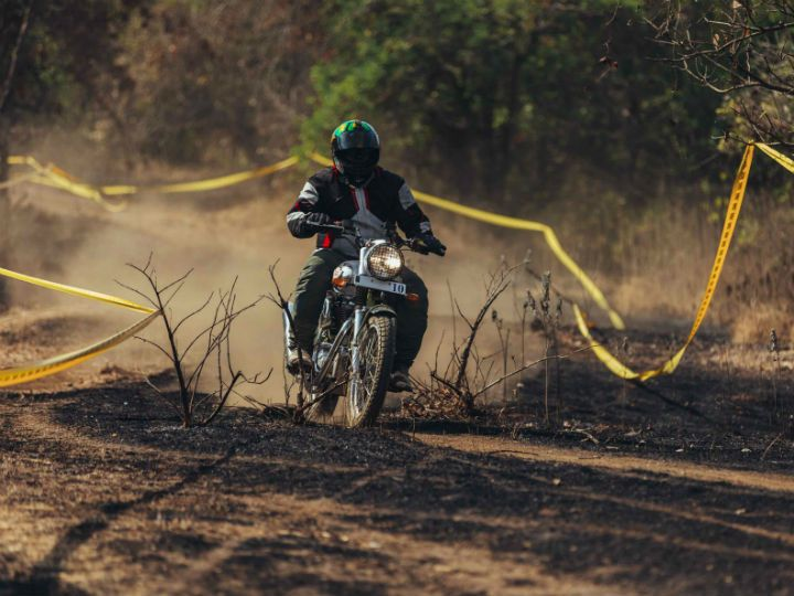RE Trials 500 review offroad shot