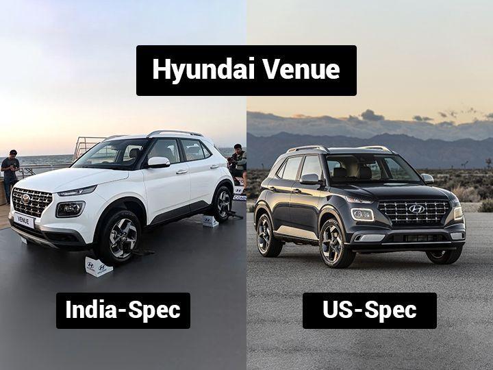 2020 Hyundai Venue: Design, Specs, Equipment, Price >> India Vs Us Spec Hyundai Venue What S Different Zigwheels