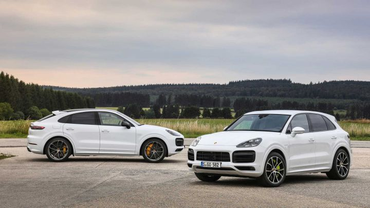 The Porsche Cayenne Turbo S E-Hybrid Is More Powerful Than