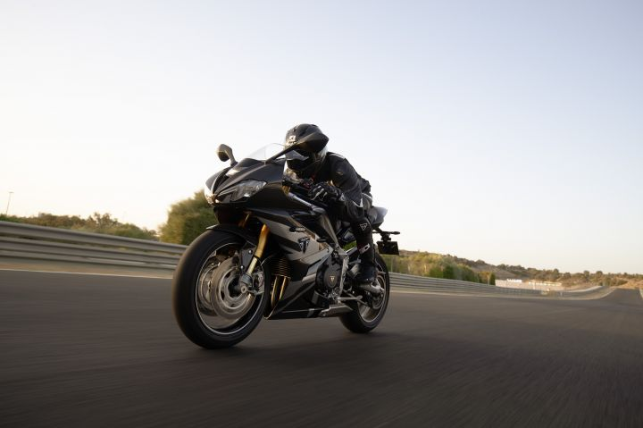 Triumph Daytona 765 Moto2 Limited Edition Makes Its Public Debut