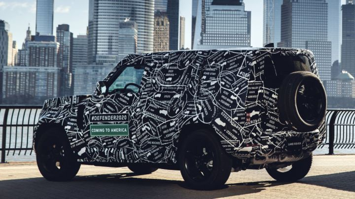 2020 Land Rover Defender Leaked Without Camouflage - ZigWheels