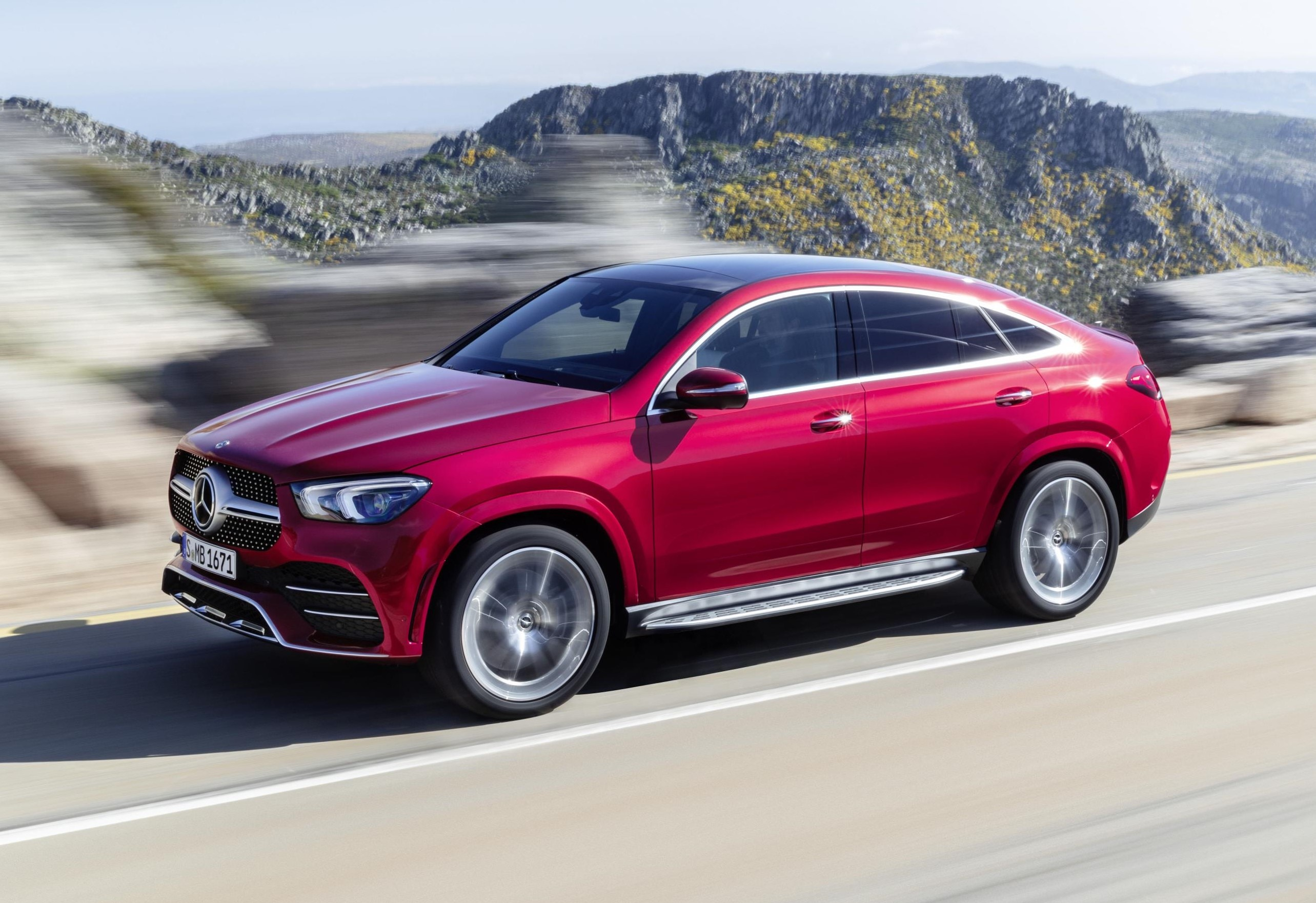 2020 Mercedes Benz Gle Coupe Unveiled Zigwheels