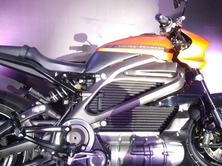 Harley-Davidson LiveWire India Unveil Image Gallery
