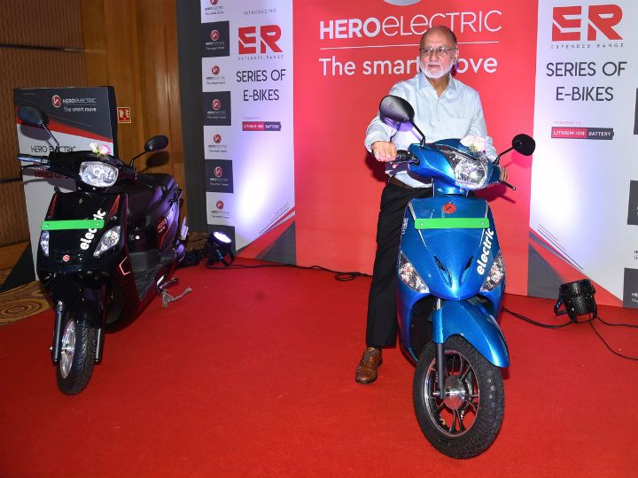 Hero e scooter launch