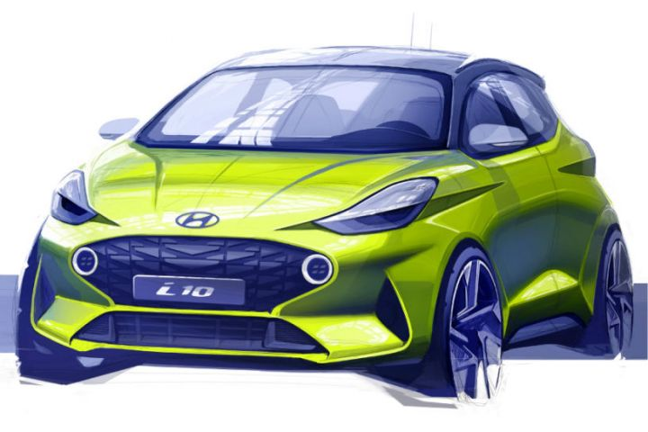 Third-Gen Hyundai i10 Sketch Revealed