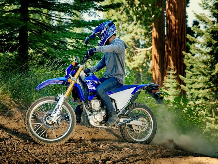 Yamaha WR250R action