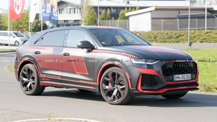 Audi S Rs Q8 Spied Almost Undisguised Ahead Of Official Debut