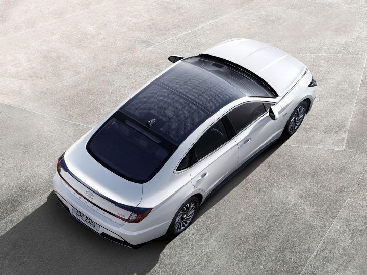 2020 Hyundai Sonata Hybrid Launched With A Solar Roof Zigwheels