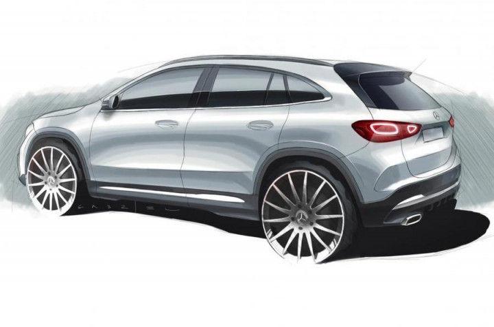Next-gen Mercedes-Benz GLA unveiled