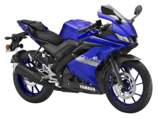 Yamaha Rides In The BS6 R15 V3