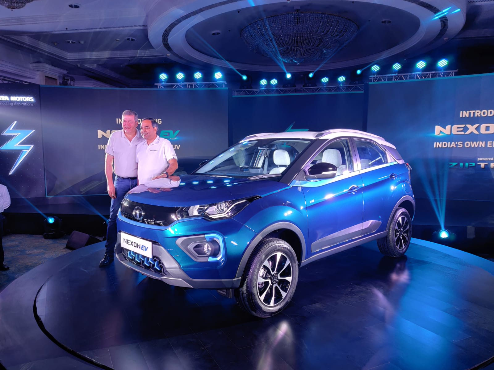 Tata Nexon Electric SUV Unveiled In India. Launch In Early 2020. - ZigWheels