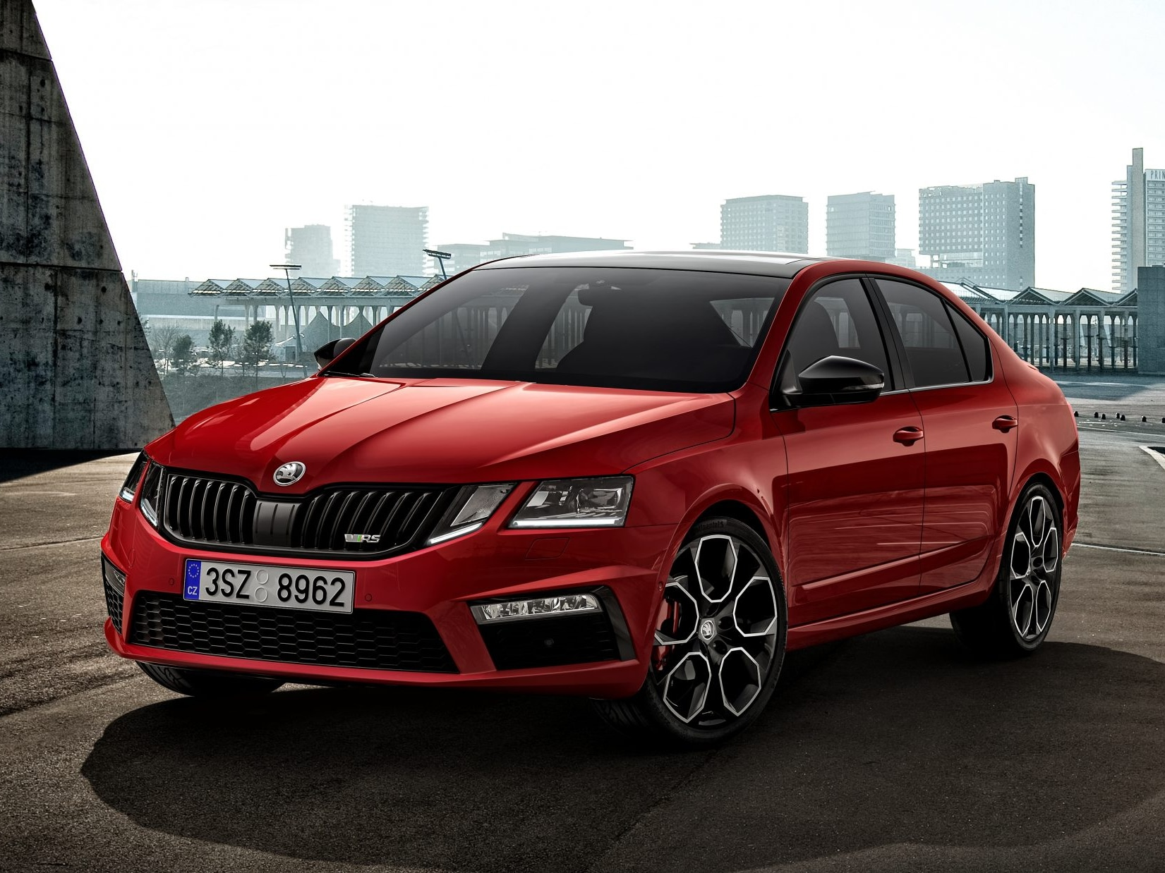 Skoda Octavia Rs245 To Launch In India Soon Will Be Displayed At Auto Expo 2020 Zigwheels