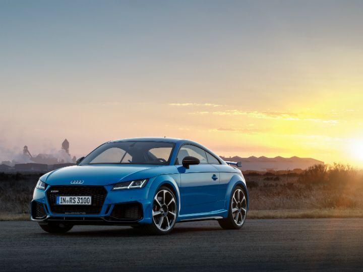 2019 Audi TT RS Is More Or Less Same As Before - ZigWheels