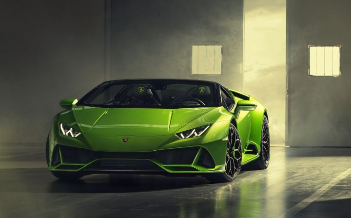 Lamborghini Huracan Evo Spyder Breaks Cover Ahead Of Geneva Launch