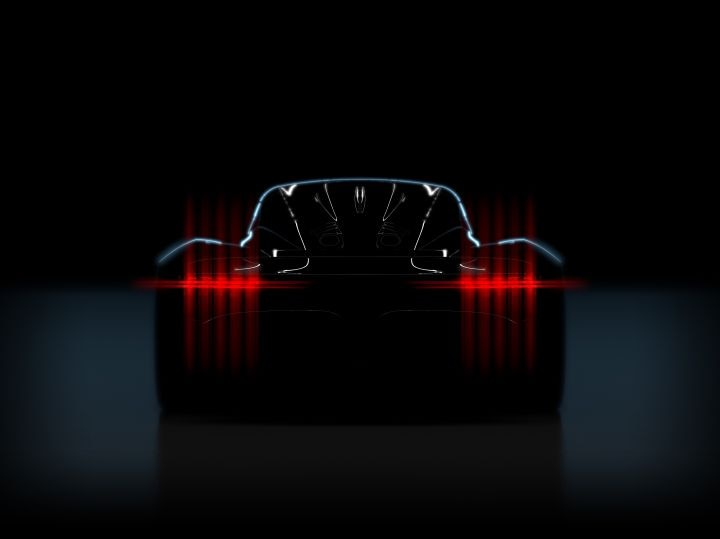 Aston Martin Project 003 hypercar teased again, debuts in 2021