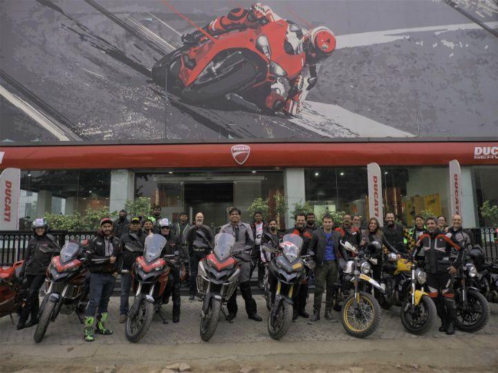 2019 Ducati Dream Tour to Rajasthan