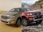 2019 Ford Endeavour Vs 2019 Ford Everest: Spec Comparo